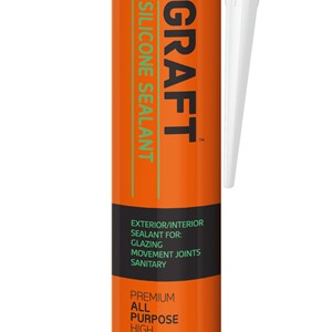 Graft Silikon Fugemasse 300ml Sort