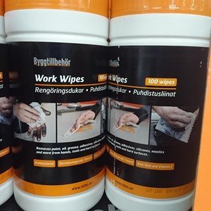 Work Wipes - pk.a 100 stk.